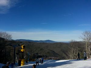 View from the top of Cataloochee